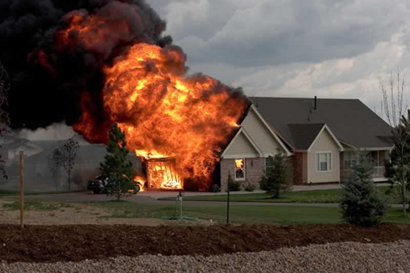 Top 5 Tips To Help You Prepare For A Home Fire - fire