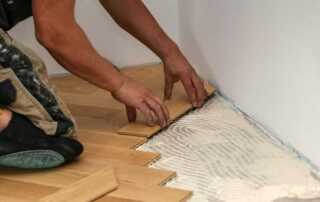 Top Tips To Successfully Fit Parquet Flooring - laying parquet