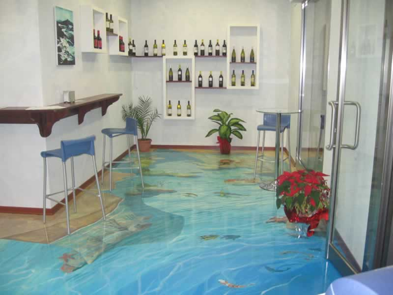 What Are The Different Types of Epoxy Flooring - 3D epoxy
