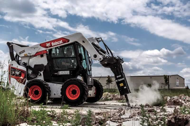 Why Choose Genuine Bobcat Attachments - pickhammer