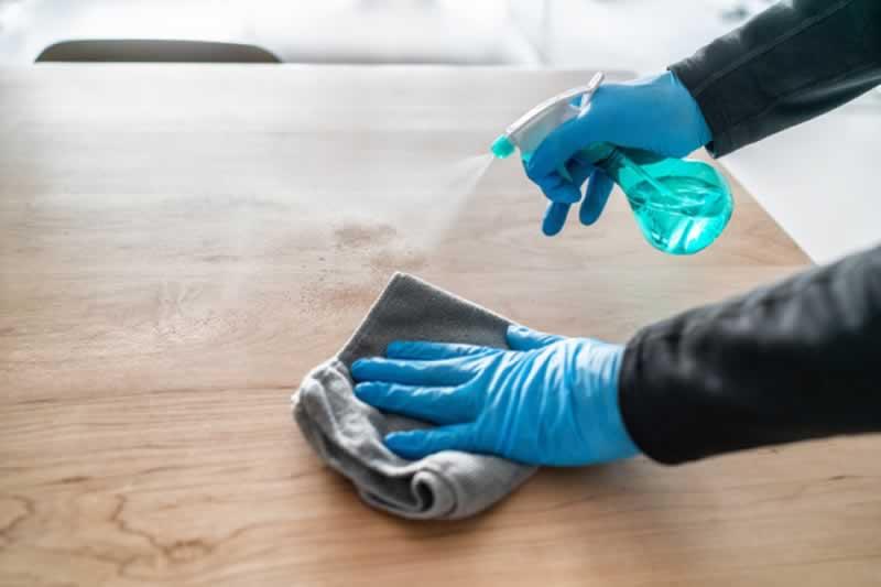 Cleaning vs. Sanitizing - sanitizing