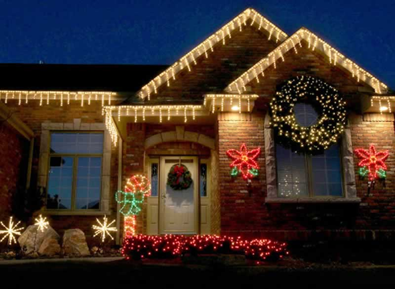 Hanging Up Lights Around Your Home