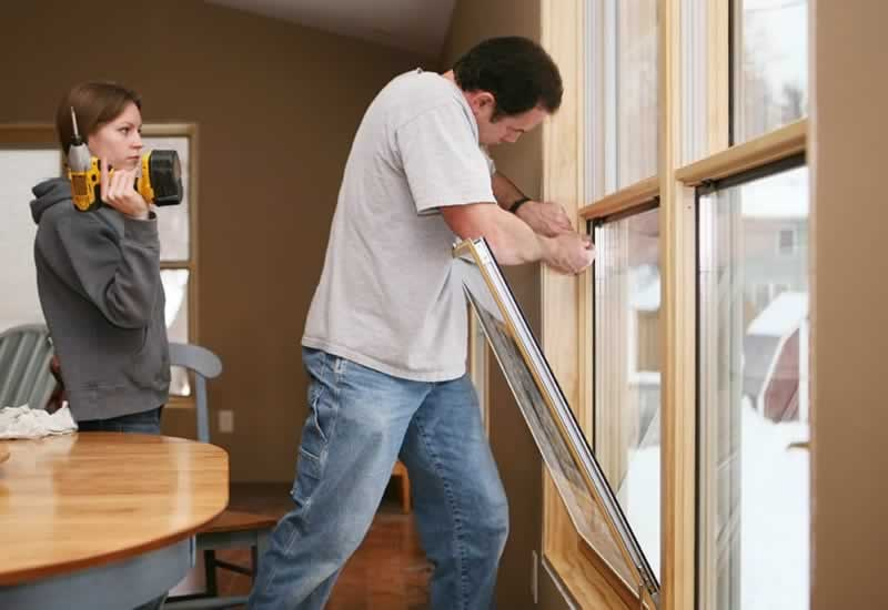How Replacement Windows Are Installed
