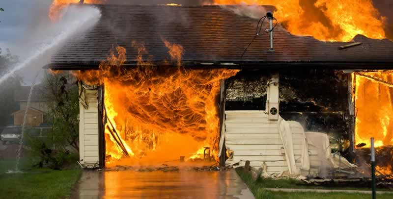 How To Fix Damage Caused by Fire and Water In Your House