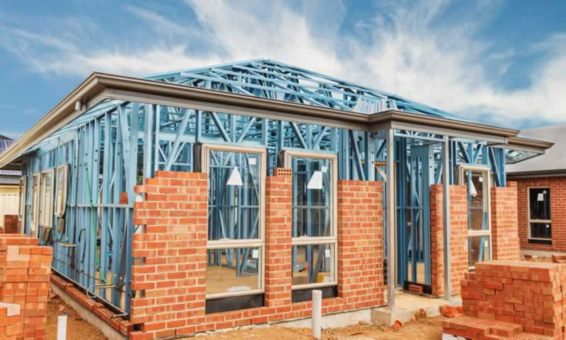 The Benefits of Building a Steel-Framed House - steel frame house