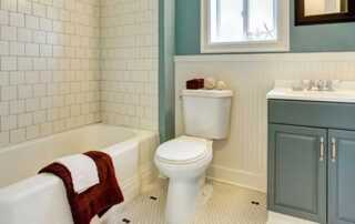 6 Easy DIY Home Improvements For A New House - bathroom