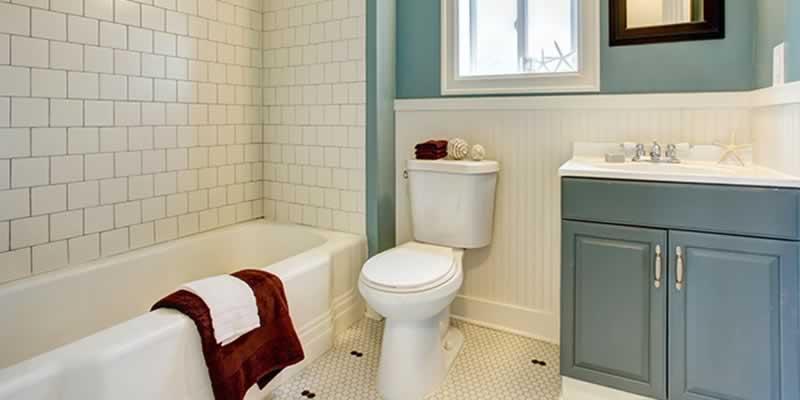 6 Easy DIY Home Improvements For A New House - bathroom