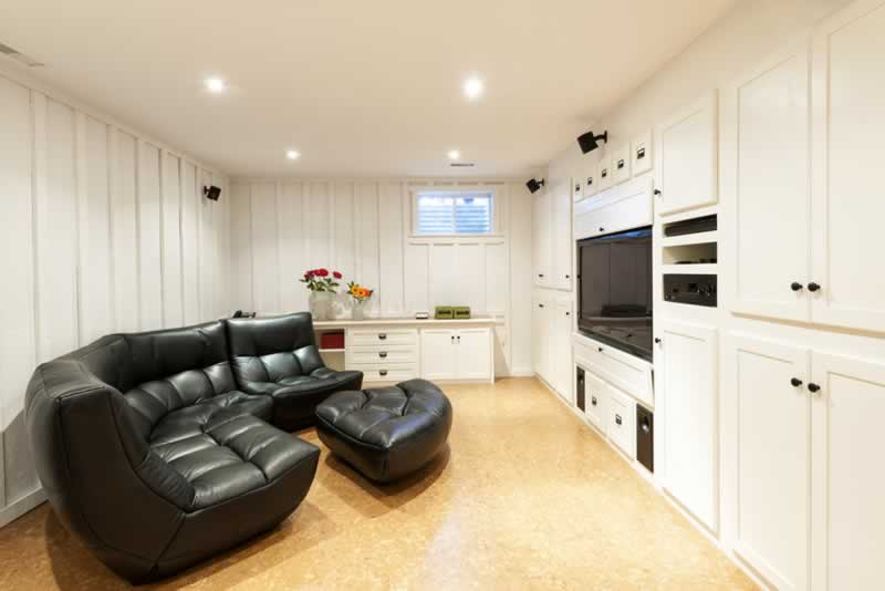 6 Things to Do Before Finishing Your Basement - basement room