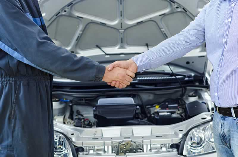 Can I take my car to a different dealership for warranty service