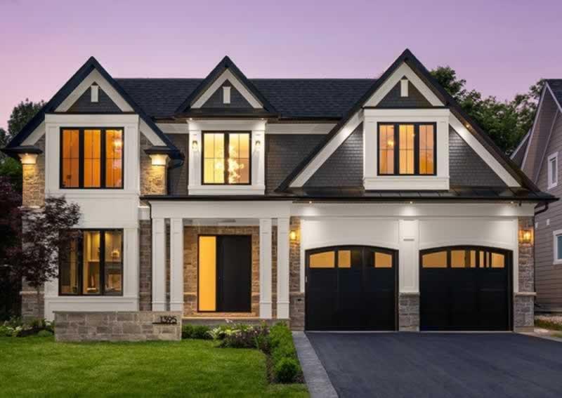 Custom Homes - classical custom home