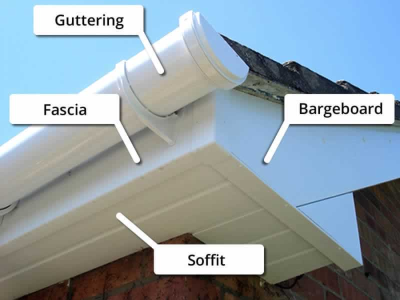 How To Replace A Fascia Board And Repair Water Damage - diagram