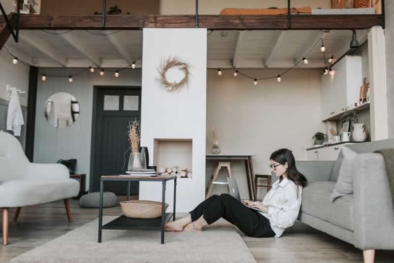 How to Create a Healthy Working Environment at Home - working at home
