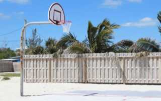 How to DIY a mini sports court in your house