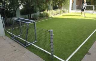 How to DIY a mini sports court in your house - soccer field