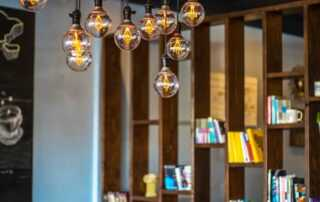 How to use Festoon lighting to give your space a vintage industrial makeover