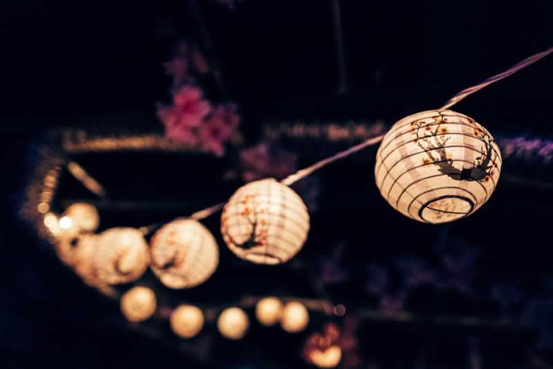 How to use Festoon lighting to give your space a vintage industrial makeover - string of lights