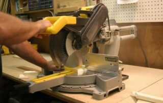 Must-Have Essential Tools for Woodworking - miter saw