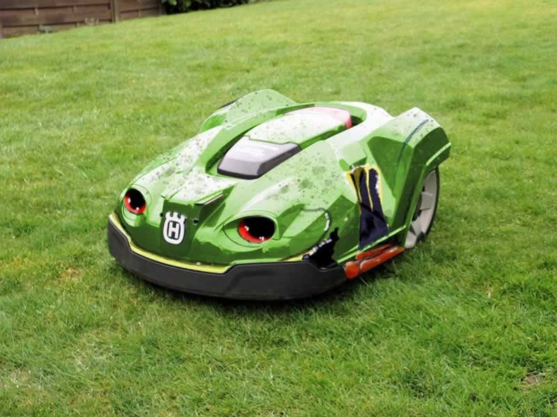 Smart and Eco-friendly Garden-care Tools - automated lawn mower