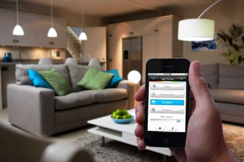 The Benefits of a Smart Home Lighting System - app