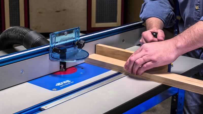 The Best Kreg Precision Router Tables - working on table