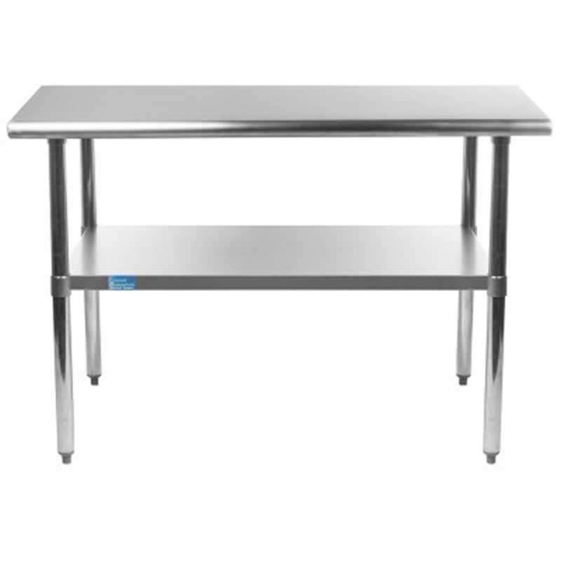 Types of Commercial Stainless Steel Kitchen Tables - table