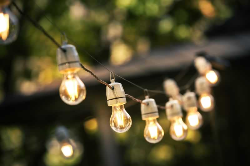 4 Best Places For Installing Outdoor Lights - string lights