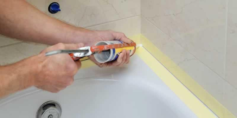 5 DIY Plumbing Projects Any Homeowner Can Handle - recaulking