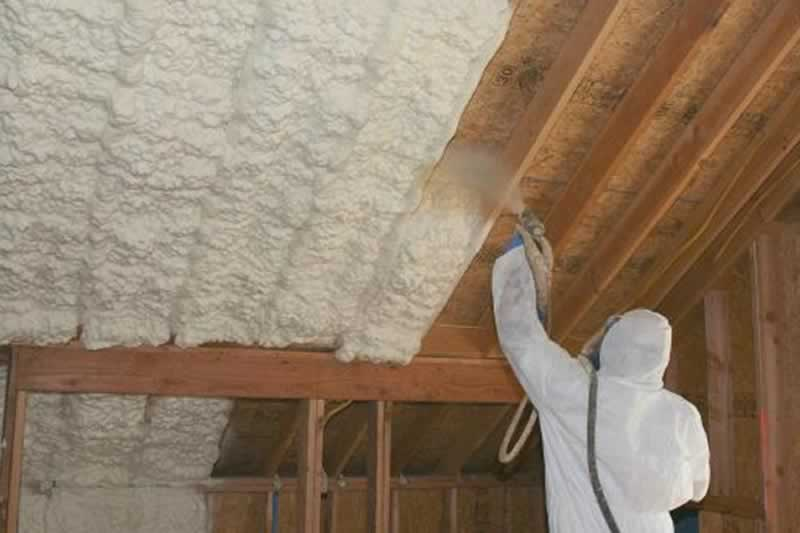 Everything about Spray Foam Installation - spraying