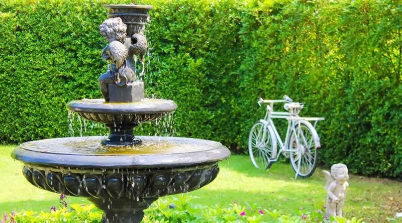 How Do Outdoor Water Fountains Work