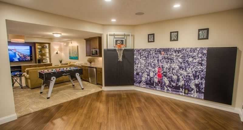How To Convert A Room In Your Home Into A Perfect Place For Basketball