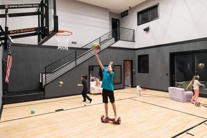 How To Convert A Room In Your Home Into A Perfect Place For Basketball - room