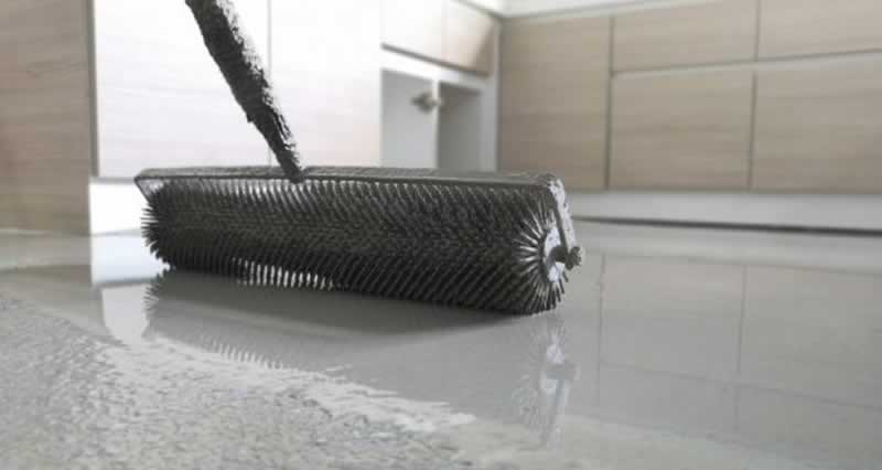 How to Level Concrete Floors That slope - leveling