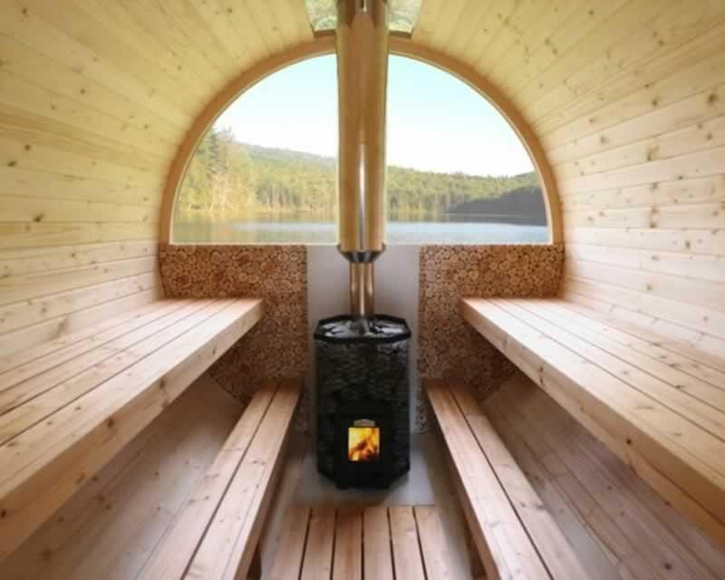 How to build an outdoor sauna - DIY sauna