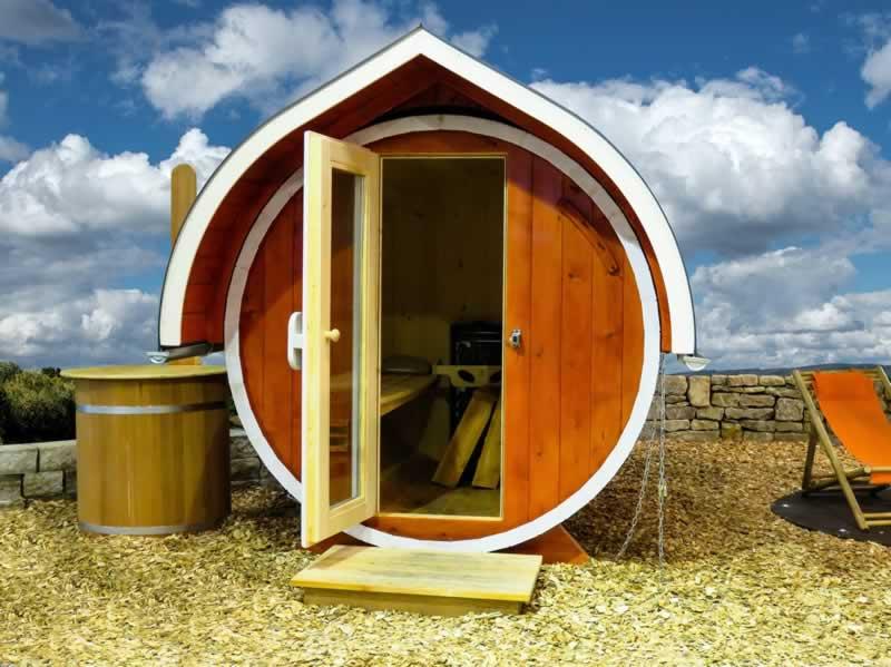 How to build an outdoor sauna