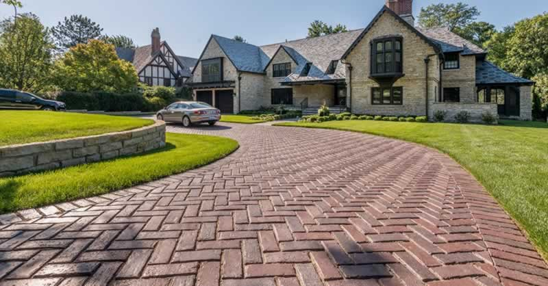 Options For Driveways To Welcome You Home - nice driveway