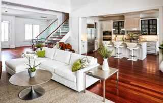 Smart tips on how to furniture a living room - open concept