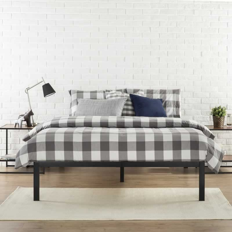 Sturdy Bed Frames That Don't Squeak - steel brace
