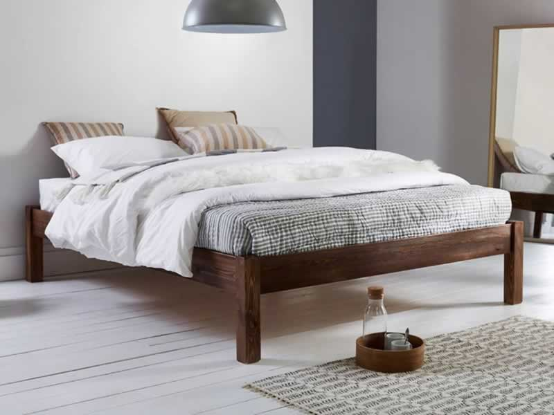 Sturdy Bed Frames That Don't Squeak - wood platform