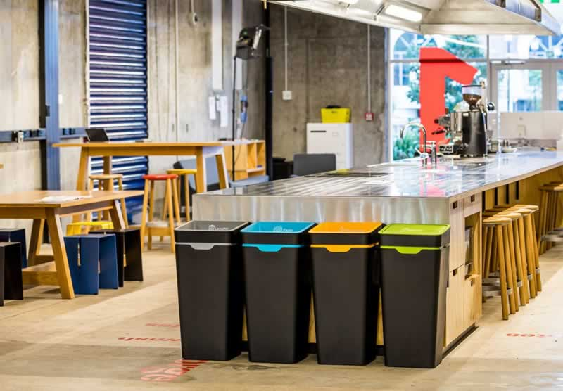 Top Tips To Minimize The Paper Waste At Your Workplace - recycle bins