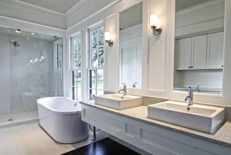 7 Ideas to Give your Bathroom a Stylish Look - amazing bathroom