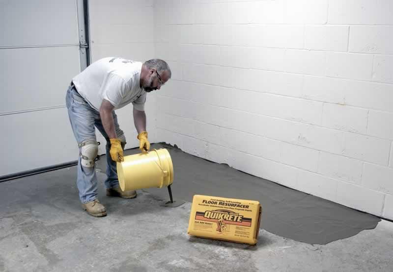 Concrete Floors - repairing