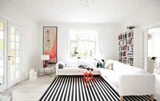 Follow these tips to make your rooms look bigger - living room
