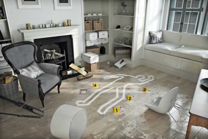 How To Clean-up If A Crime Has Taken Place In Your Home