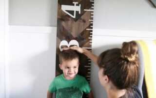 How to Make Two Kinds Of Wooden Growth Charts