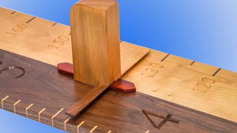 How to Make Two Kinds Of Wooden Growth Charts - growth chart
