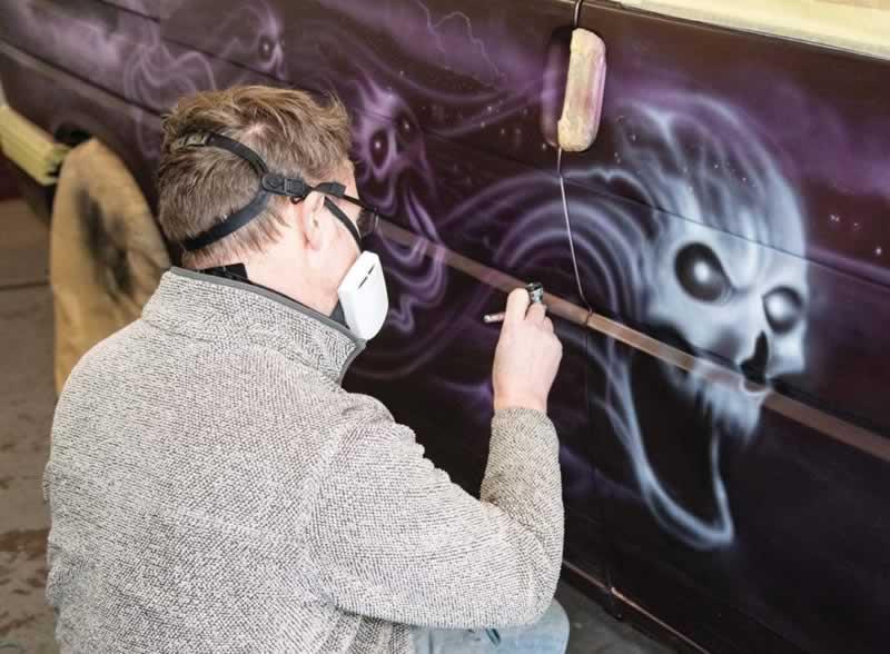 How to create Airbrush Art