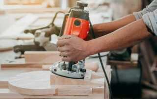 How to use a plunge router with a template