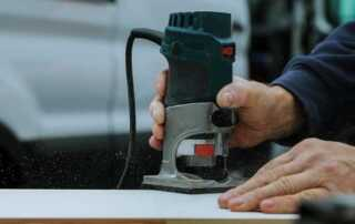 How to use a plunge router with a template - plunge router