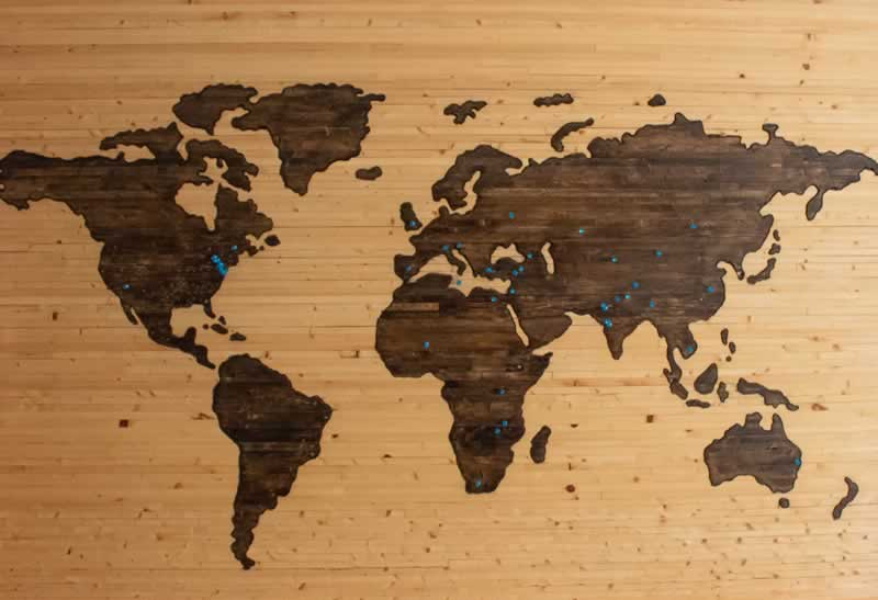 Important Facts About The World's Continents That You Must Know - continents on wood