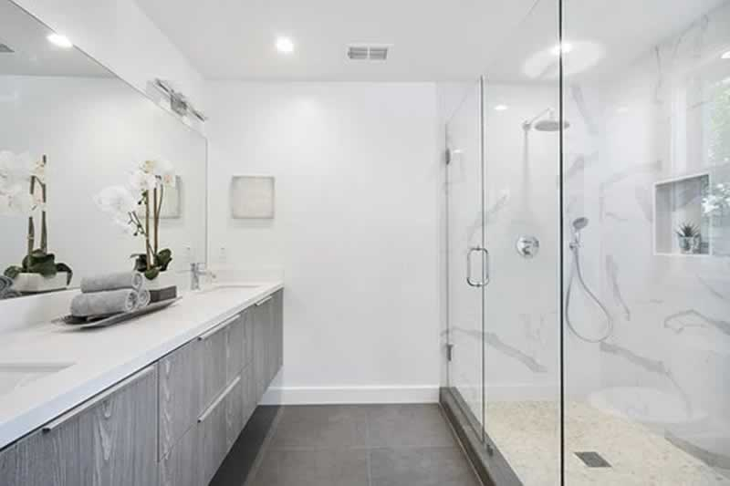 Modern Design Ideas That Will Improve Your Bathroom - floating vanities